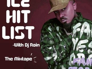 "DJ Rain – ""Ice Hit List"" (Best Of Ice Prince) Mixtape"