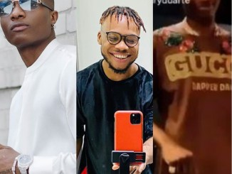 Wizkid Begs Dancer, Poco Lee To Teach Him Dance Steps (Video)