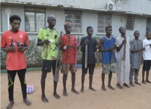The Kano State Police Command has arrested 42 notorious thugs known as 'Yan Daba' and 21 drug dealers as part of renewed effort towards fighting all forms of crimes and criminality in the state.      Spokesperson of the command, DSP Abdullahi Haruna Kiyawa, disclosed this in a statement on Wednesday, June 2, while parading the suspects at the police headquarters in Kano.