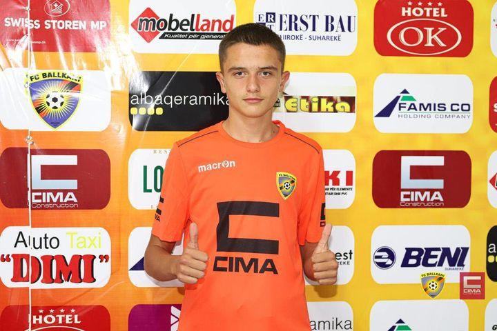 Benjamin Zyberi talent i rrallë i futbollit