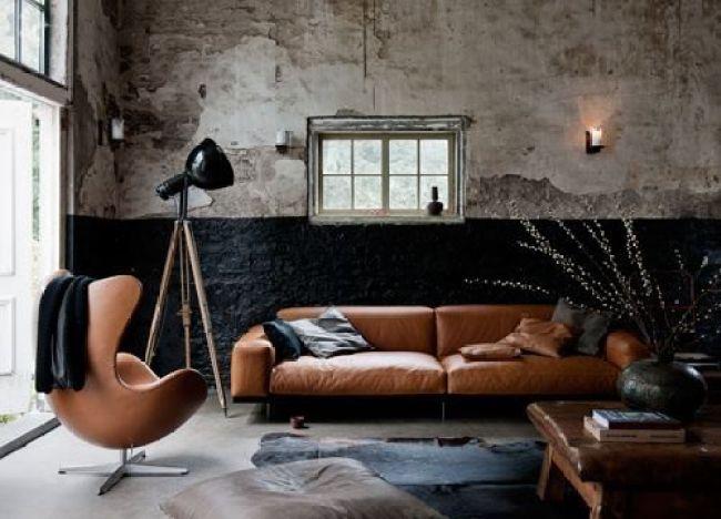 Interieur| Stoer en mannelijk wonen - Woonblog StijlvolStyling.com