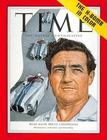 Briggs Cunningham II, on the cover of Time.