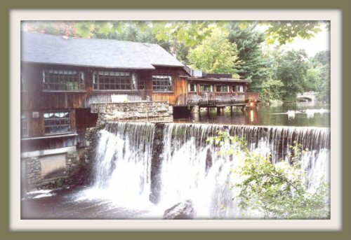 Cobbs Mill waterfall