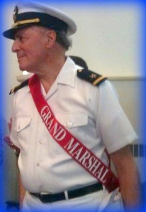 Tracy Sugarman was grand marshal at Westport's 2011 Memorial Day ceremony.