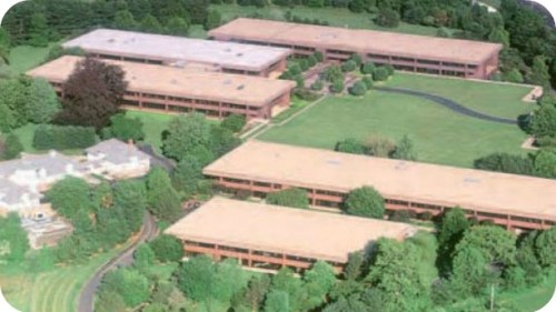 The Nyala Farms office complex, near I-95 Exit 18. It's one of the hedge fund centers of the world.
