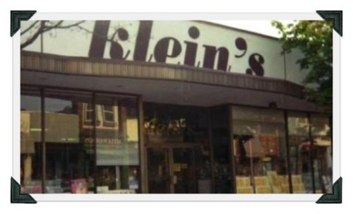 Klein's, back in the day -- and before a 2nd floor was added.
