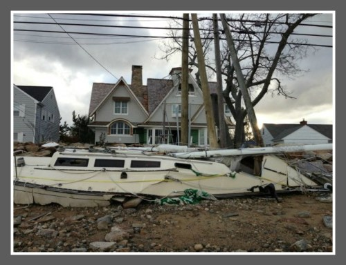 Hurricane Sandy devastated Saugatuck Shores.