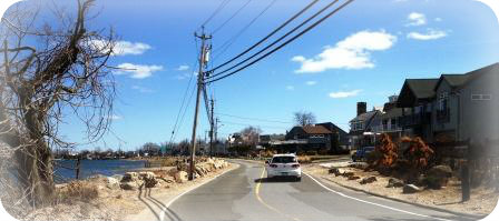 Harbor Road is narrow, windy -- and very, very scenic.