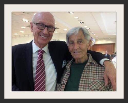 Bill Mitchell (left) and Walt Melillo.