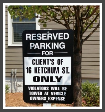 Ketchum Street sign