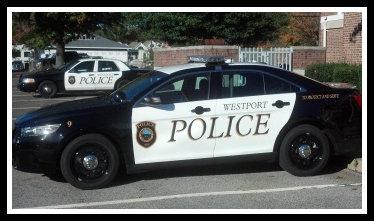 Westport police car