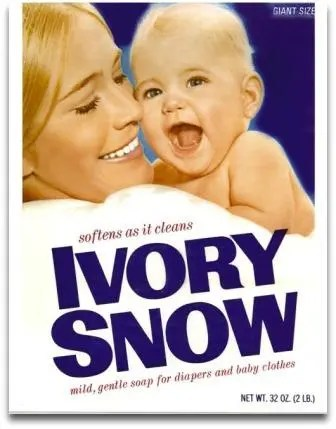 Marilyn Chambers was barely out of high school when she modeled for the Ivory Snow package. At the same time, she was beginning her career in porn.