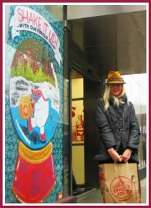 Jordan Teske, outside her New York City Trader Joe's.