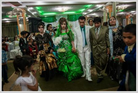 It's very rare that a Westerner can photograph an Afghan wedding. Lynsey Addario had that opportunity. (Photo/Lynsey Addario for National Geographic)