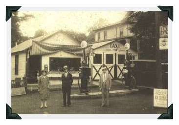 In the 1920s, Esposito's gas station stood on Charles Street. Today it's Tarry Lodge.