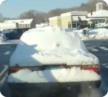John Hartwell snow car