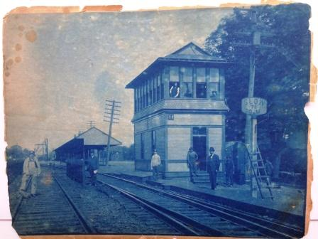 Saugatuck Railroad Station - construction
