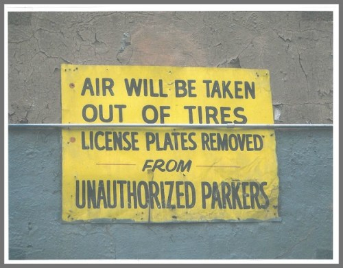 illegal parking - Pete Romano