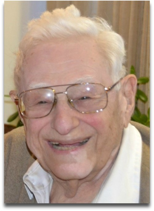 Richard Brodie, at his 96th birthday party.