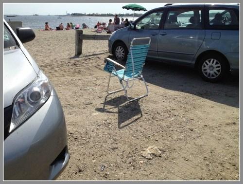 Saving parking spot