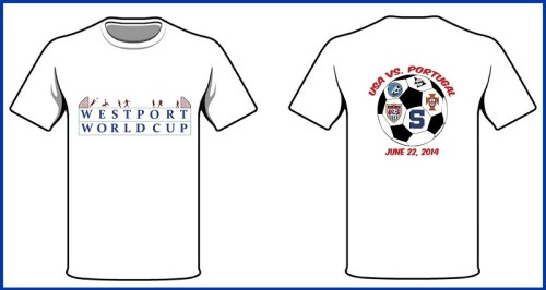 The front and back of the commemorative t-shirts. Deadline to order is June 10.