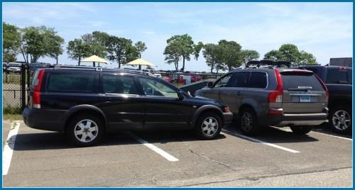 Compo Beach parking