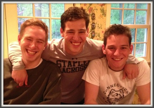 ...and Charlie, Jack and Joe Greenwald  more recently.