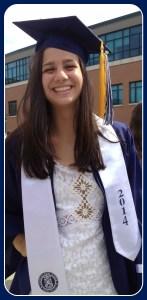 Melissa Beretta, Class of 2014 salutatorian.
