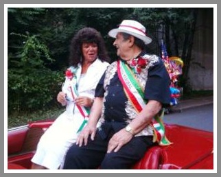 Buck Iannacone and Roberta Troy at the 2009 Italian Festival. He served as grand marshal that year.