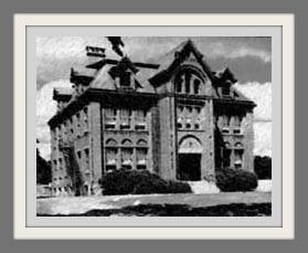 The original Staples High School on Riverside Avenue.
