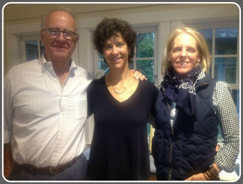 Culture of Respect board members (from left) John and Sandi Fifield, and Anne Hardy.