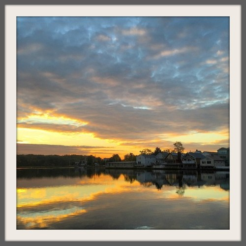Sunrise over Mill Pond - Stacy Waldman Bass