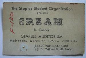Cream ticket