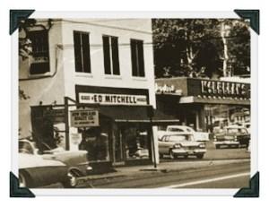Ed Mitchells original location