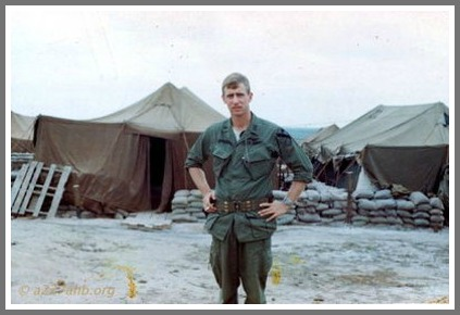 Jay Dirnberger served with the 1st Cavalry Division in South Vietnam, in 1968.