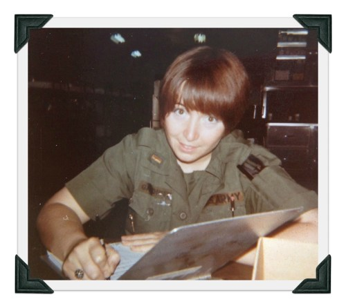 Kendall Gardiner Anderson was in Vietnam, with the U.S. Army