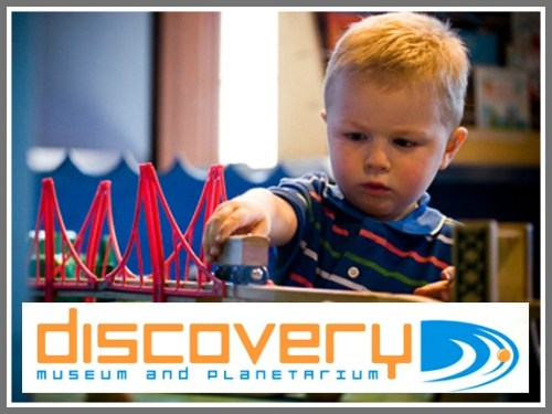 Discovering science and more, at the Discovery Museum.