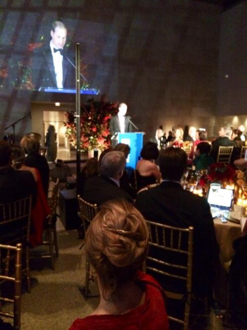 Prince William, last night at the Met.
