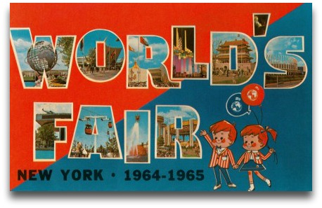 Worlds Fair postcard