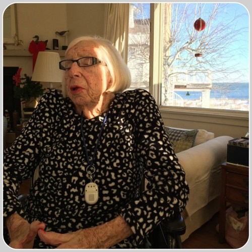 Joyce Clark, in her Saugatuck Shores home.