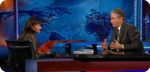Lynsey Addario Jon Stewart