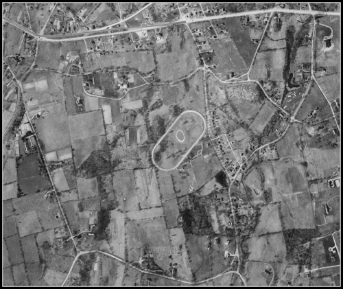 1934 aerial photo Wynfromere track