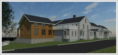 A rendering of the addition.