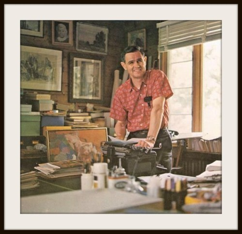 Walt Reed, in his Westport studio.