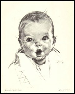 The Gerber baby. (Copyright Gerber Company)