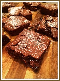 "Taylor Harrington's brownies are ""richer than Bill Gates,"" according to her Instagram bakery."