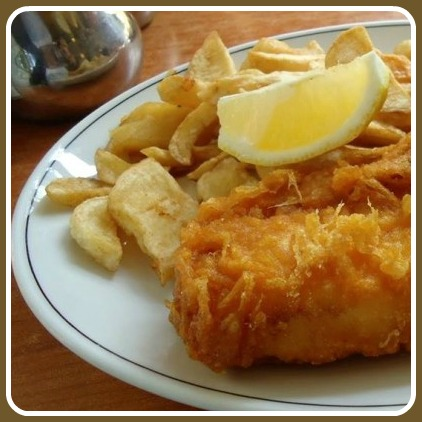 A tantalizing dish from Westport Fish & Chips.