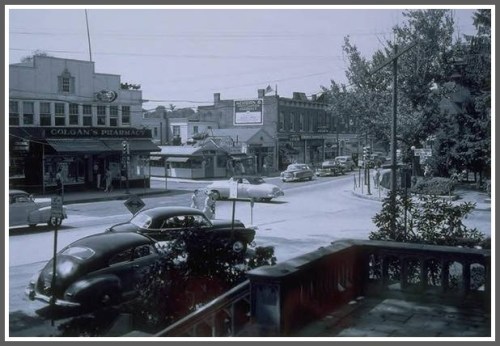 Downtown 1948 - copyright Thomas J. Dodd Research Center UConn