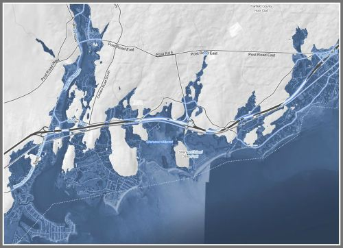 2050 Westport coastal map
