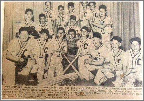 Coleytown El - interscholastic baseball